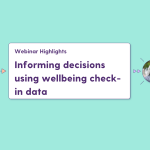 Using wellbeing check-in data